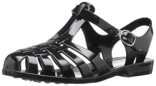 Chinese Laundry Women's Feliz Jelly Sandal, Black, 8 M US