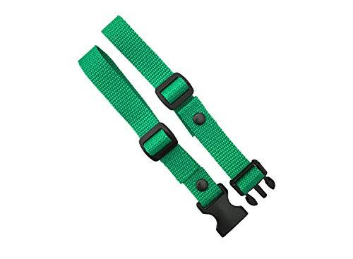 GURTIES® Brustgurt für Schulranzen Schulrucksack Rucksack universal 27 Farben (grün)