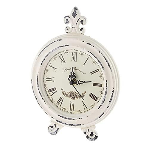 Yetier Reloj Despertador, Reloj de Madera Vintage Colección de decoración del hogar Reloj de Vida Simple