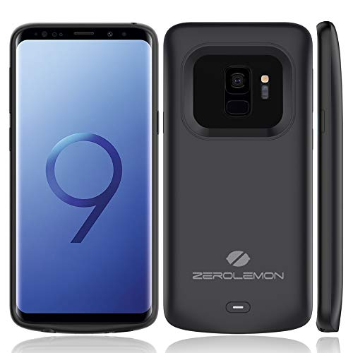 Galaxy S9 Battery Charging Case, ZeroLemon Slim Power 4700mAh Extended Battery with Full Edge...