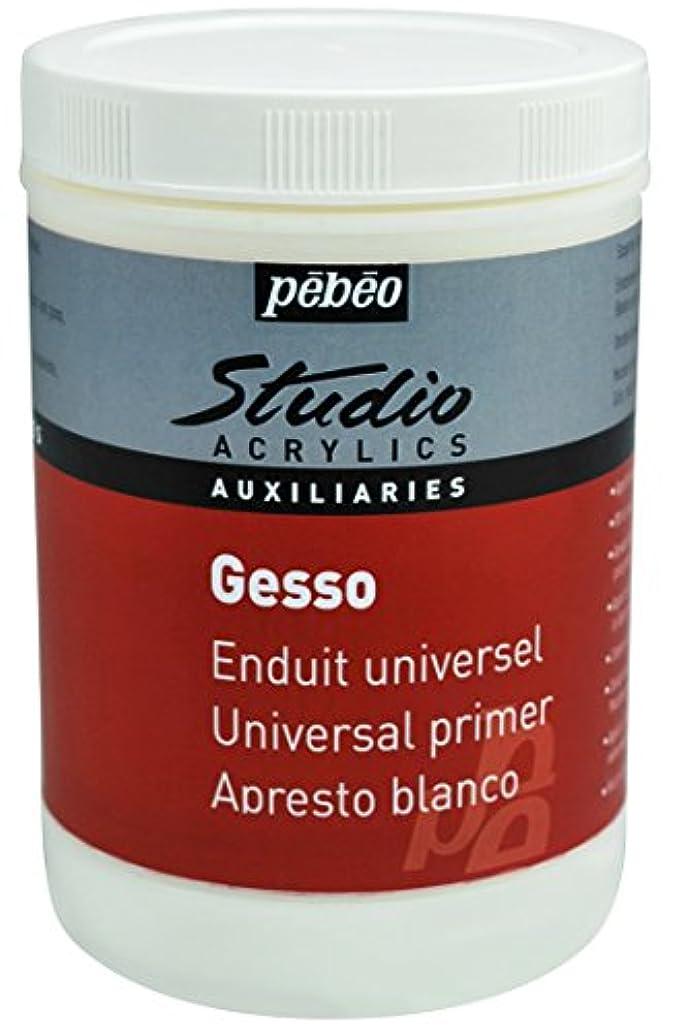 Pebeo Studio 524122 Acrylic Gesso 1 litre
