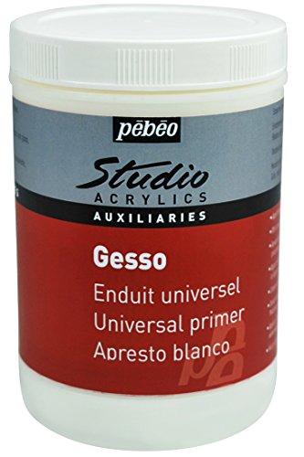 Pebeo 524122 Acrylic Studio Gesso 1 L