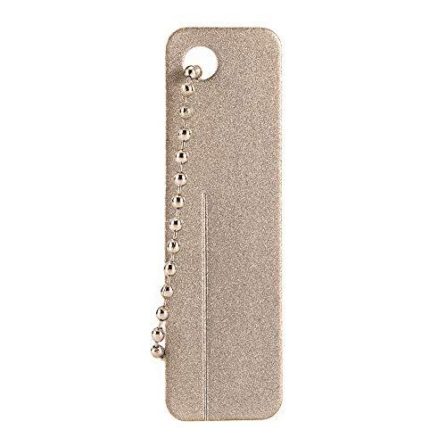 HXHON Mini-Schleifstein-Anspitzer, Schlüsselanhänger, für Fischhaken, Messer, Asche, Fingernagel
