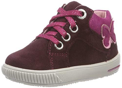 Superfit Baby Mädchen Moppy Sneaker, Rot (Rot/Rosa 50), 20 EU