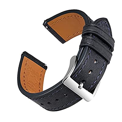 EACHE Quick Release Premium Leather Watch Bands...