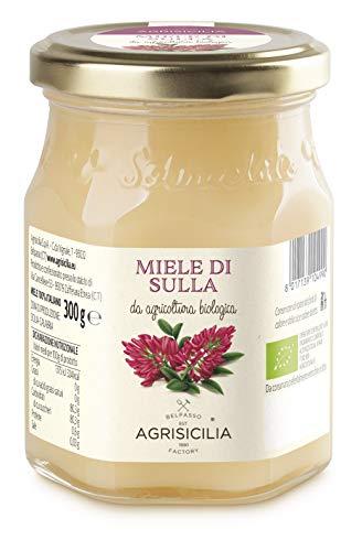 Agrisicilia Miele Di Sulla Da Agricoltura Biologica - 300 g