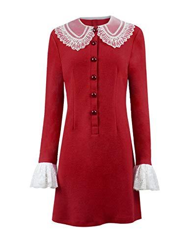 Sabrina Spellman - Disfraz de mujer para Halloween - Rojo - Personalizado-Hecho