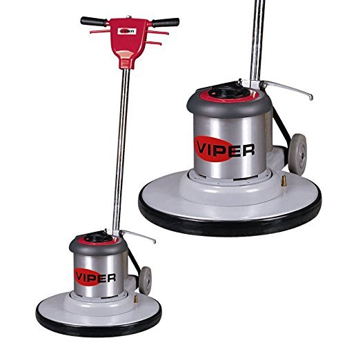 Viper Cleaning Equipment VN1715 Venom Series Low Speed Buffer, 17' Deck Size, 175 RPM, 50' Power...