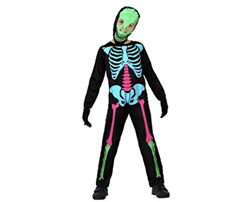 Atosa - 23559 - Costume - Déguisement De Squelette - Garçon - T-4