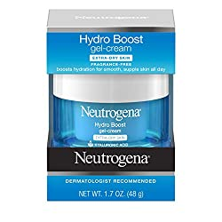 Neutrogena Hydro Boost Hyaluronic Acid Hydrating Face Moisturizer Gel-Cream to Hydrate and Smooth Ex