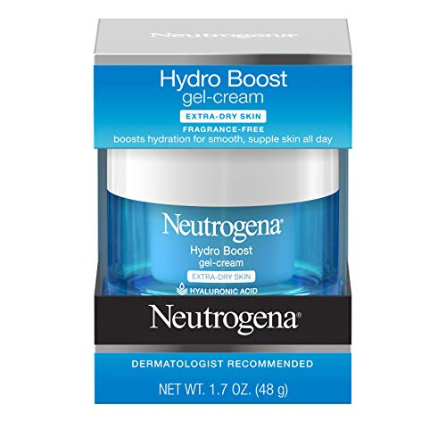 Price comparison product image Neutrogena Hydro Boost Hyaluronic Acid Hydrating Face Moisturizer Gel-Cream to Hydrate and Smooth Extra-Dry Skin,  1.7 oz