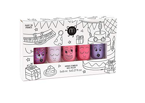 Nailmatic- Pack 5 Esmaltes Uñas Party (1)