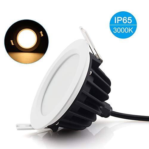 11er SET SALLE DE BAIN ip65 Sans Rouille gu10 Halogène Lampes d/'Installation AQUA Square 230 V