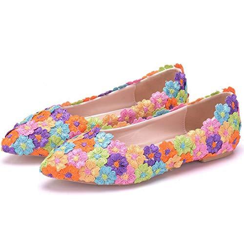 Las Sandalias Planas Las Mujeres Moda, Los Zapatos Novia Encaje, Los Zapatos...