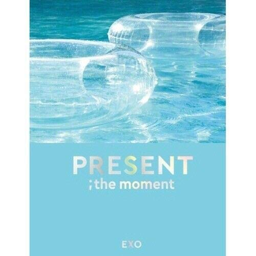 EXO 'Present;The Moment' 204p PhotoBook+2p Clear PhotoCard+Message PhotoCard Set+Tracking Kpop Sealed