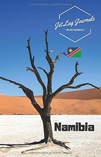 JetLagJournals • Reisetagebuch Namibia: Erinnerungsbuch zum Ausfüllen | Reisetagebuch zum Selberschreiben für die Namibia Reise