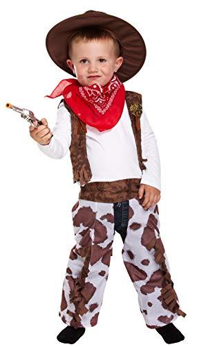Cowboy Fancy Dress Toddler Costume Age 3 (disfraz)