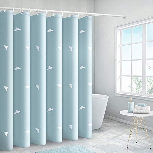 Bumpy Road Geometrisches Dreieck Duschvorhang Badezimmer Wasserdichter Polyester Duschvorhang Druckvorhänge für Badezimmerdusche mit Haken