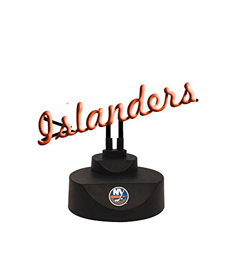 The Memory Company NHL New York Islanders Script Neon Sign, One Size, Multicolor image