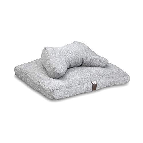 Conscious Life Shop Zafu Zabuton Meditation Cushion Set Included: Incense Holder -Price...