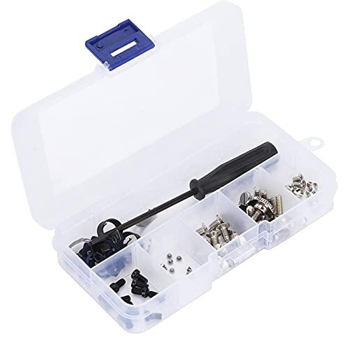 Tornillo de coser, contiene varios tipos de tornillos Tornillo de placa de aguja utilizado para instalar piezas de máquinas de coser para coser
