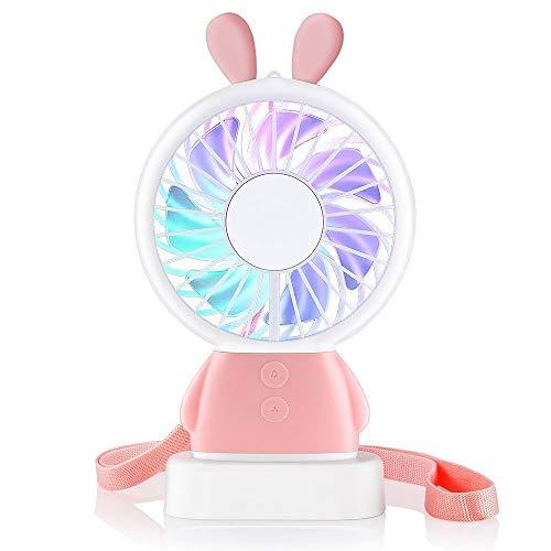 Great Features Of Jennyfly Desktop Mini Fan, Summer Personal Desktop Cooling Fan 2 Speed Adjustable ...
