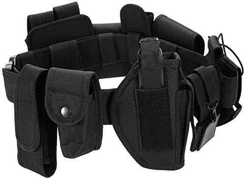 Cinturón Táctico de Ajustable Nylon Militar Airsoft Correa Kit para Guardia Civil Policía y Seguridad