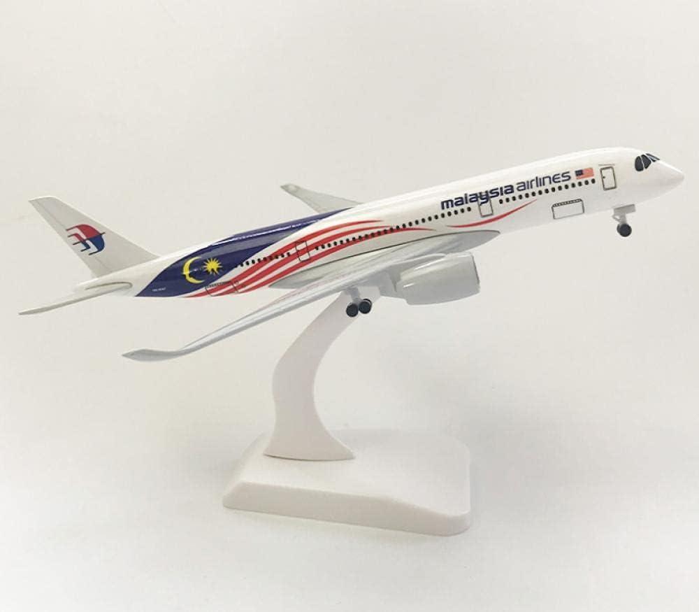 Ranking TOP18 Airplane Model Malaysia A350 Bargain sale 7.9inch Alloy 20cm Diecast Plane