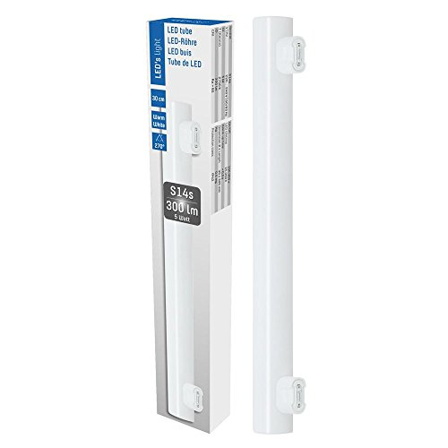 LED Linienlampe 5W = 35W 300lm warmweiß 2700K S14S 2 Sockel Linestra 30cm