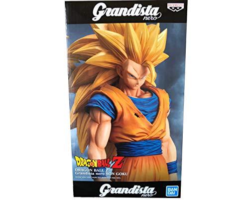 Bandai Spirits. Dragon Ball Z Figure Son Goku SSJ3 Grandista Nero Super Saiyan 3 Estatua