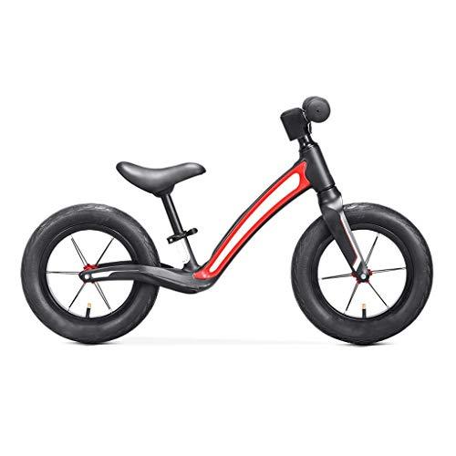 Laufrad für 2-7 Jahre, Mädchen Jungen Baby Kleinkind Kinder Strider Bike, kein Pedal Scooter Fahrrad mit Fußstütze, Magnesiumlegierung, 360 & deg;Drehbarer Lenker, ultraleichtes Fahrrad, Kindertrain