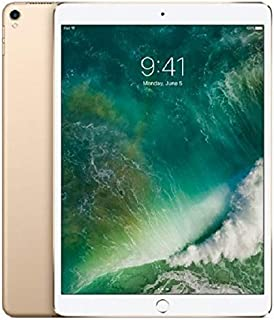 """Apple iPad Pro 10.5"""" (2017 - 2nd Gen), Wi-Fi + Cellular, 64GB, Gold [With Facetime]"""