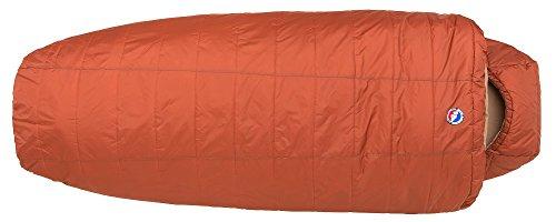 Big Agnes Hog Park 20 (Thermolite Extra) Sleeping Bag, Wide Long, Spice