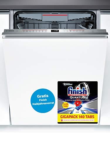 Bosch lave-vaisselle sbv68md02e Serie 6 A + +/266 kWh/an/2660 L/AN/Départ différé 86,5cm (XXL)