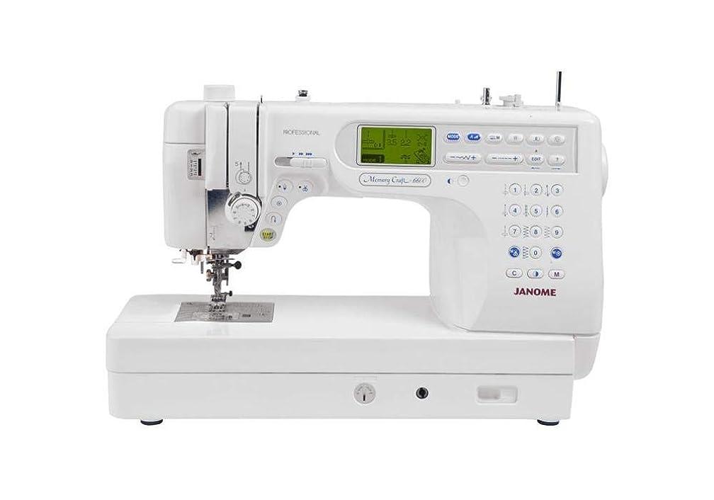 Janome Memory Craft 6600P Professional Computerized Sewing Machine (Renewed)
