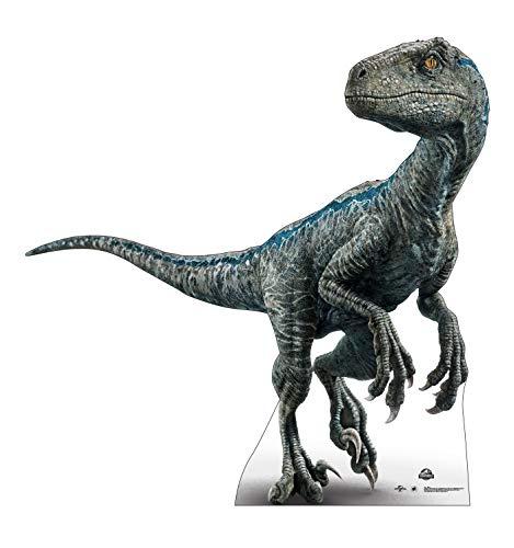 Advanced Graphics Blue Life Size Cardboard Cutout Standup - Jurassic World (2015 Film)