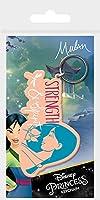 (ムーラン) Mulan オフィシャル商品 Strength & Spirit キーリング キーホルダー (ワンサイズ) (ピンク/ブルー)