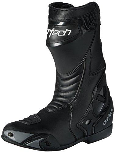 Cortech Latigo WP Men's Road Race Motorcycle Boots (Black, Size 12/EU 46)