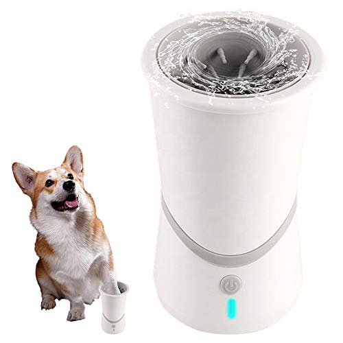 [Gorilla Gadgets] Automatic Dog Paw Cleaner Portable Dog and Cat Paw Washer with Automatic Rotating...