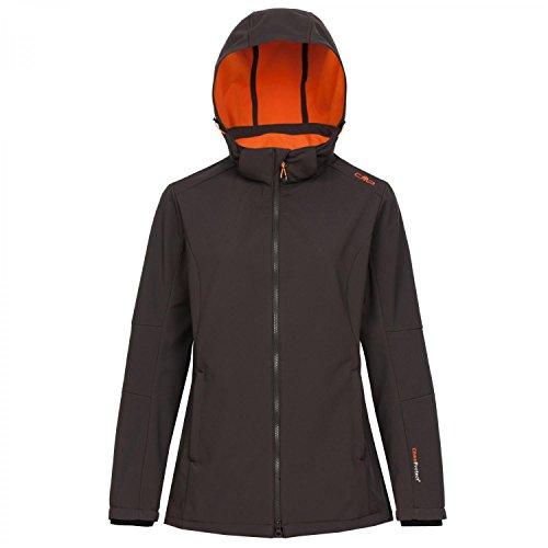 CMP chaqueta para mujer softshell, Arabica-Aranciata, {40}, 3A22226