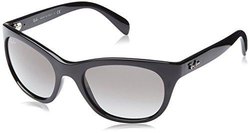 Ray-Ban 0Rb4216 601/11 56 Montures de lunettes, Noir (Black/Grey), Femme