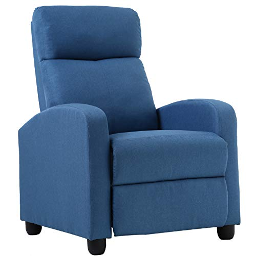 Winback Chair Single Sofa Home Theater Seating with Modern Reclining for Living Room