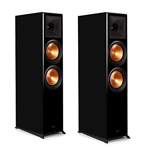 Klipsch Reference Premiere RP-8000F Floorstanding Speaker with Tractrix Horn-Loading Technology