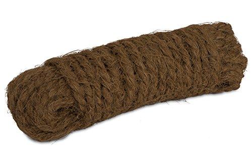 Windhager Kokosgarn Baumanbinder Kokosseil Kokos-Tau Baum-Kordel, Garn aus 100 % Kokosfaser, 15 m, 06200 braun
