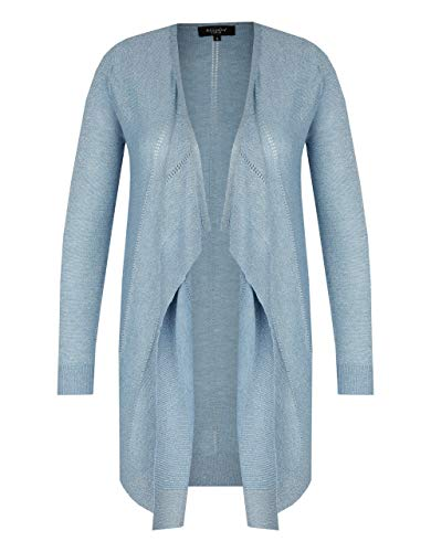 Bexleys Woman by Adler Mode Damen Lange Jacke Uni Jeans L