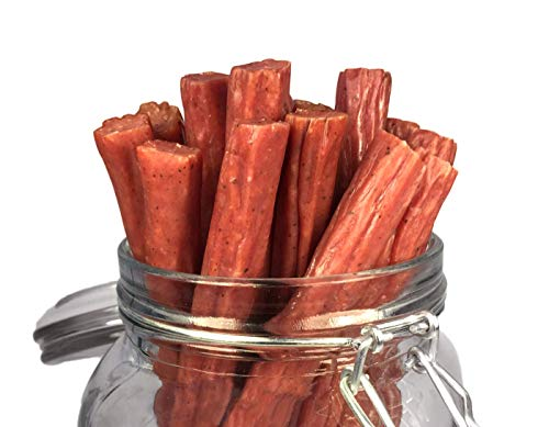Mission Meats Keto Free Range Turkey Jerky Sticks Gluten Free, Sugar Free, Nitrate Free, No MSG Paleo Snacks Healthy Natural Meat Sticks, Original Turkey 12 pack