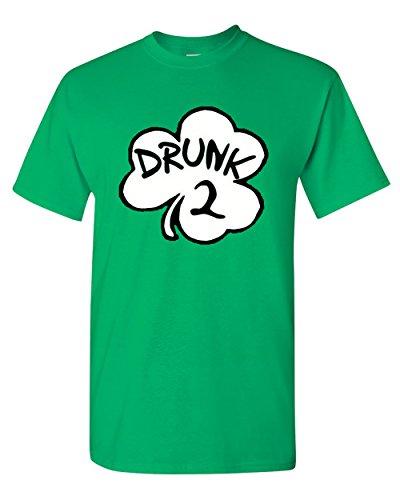 Drunk 2 Kostüm St. Patricks Funny inspiriert von Dr. Seuss - Grün - 3X-Groß