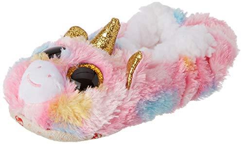Ty Pantuflas pequeñas, Talla 30, diseño de Unicornio