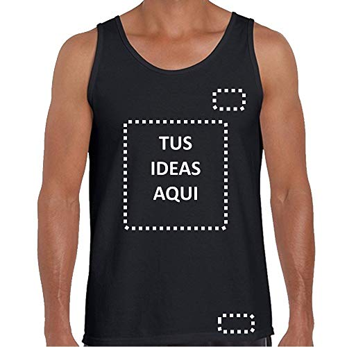 YISAMA Camisetas de Tirantes para Hombres Personalizada