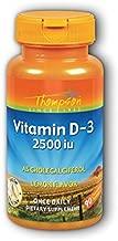 Vitamin D-3 Cholecalciferol Lemon Thompson 90 Chewable